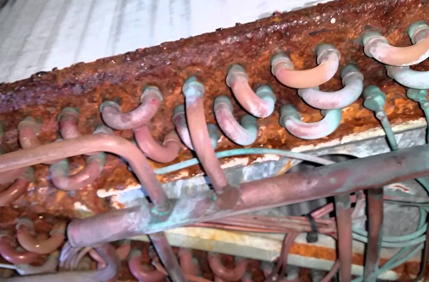 rusty coil